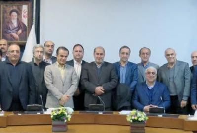 نشست مشترک اتاق بازرگانی گیلان با هیات رییسه کمیسیون اقتصادی مجلس در سازمان برنامه و بودجه