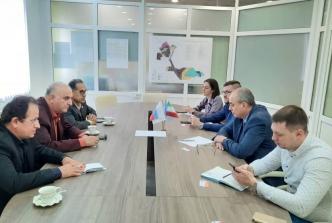 دیدار رییس اتاق بازرگانی مشترک ایران و روسیه با مدیر عامل منطقه ویژه اقتصادی